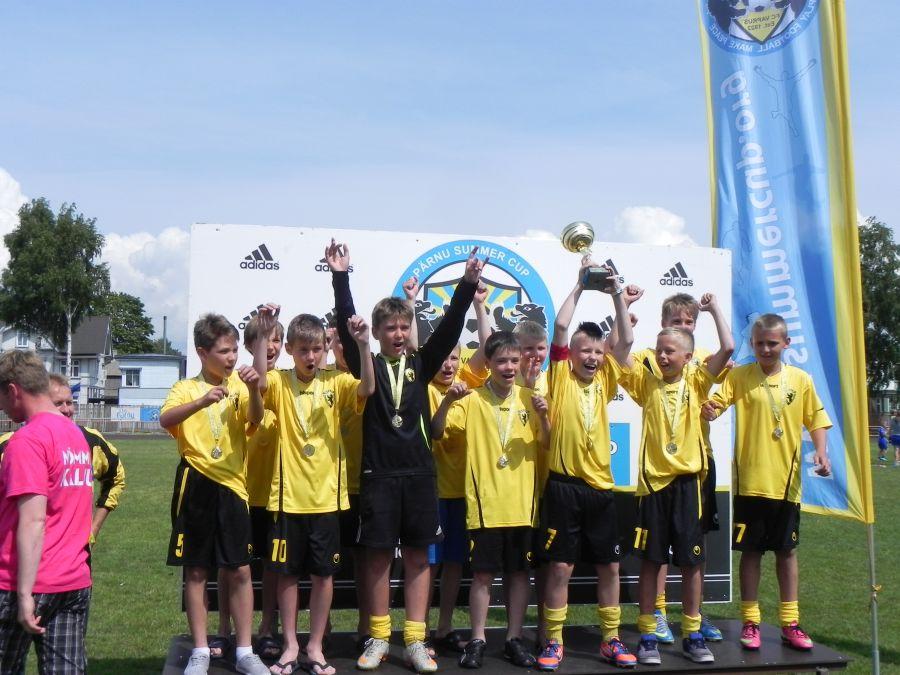 2013 a. Pärnu Summer Cupi kokkuvõte