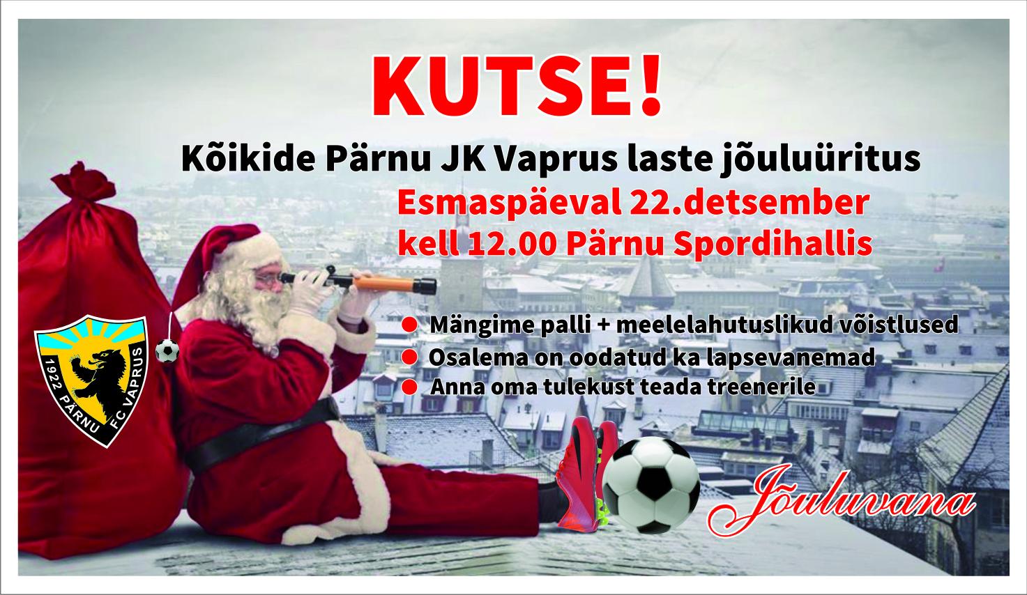 Klubi jõulupidu!!!