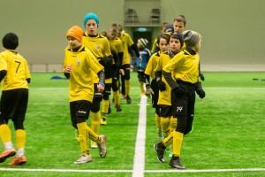 U14 poisid pidasid kontrollkohtumise Lätis