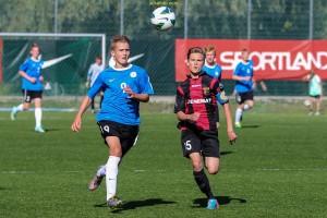 Ronaldo Tiismaa esindas Eesti U-15 noortekoondist Triobeti Aastalõputurniiril