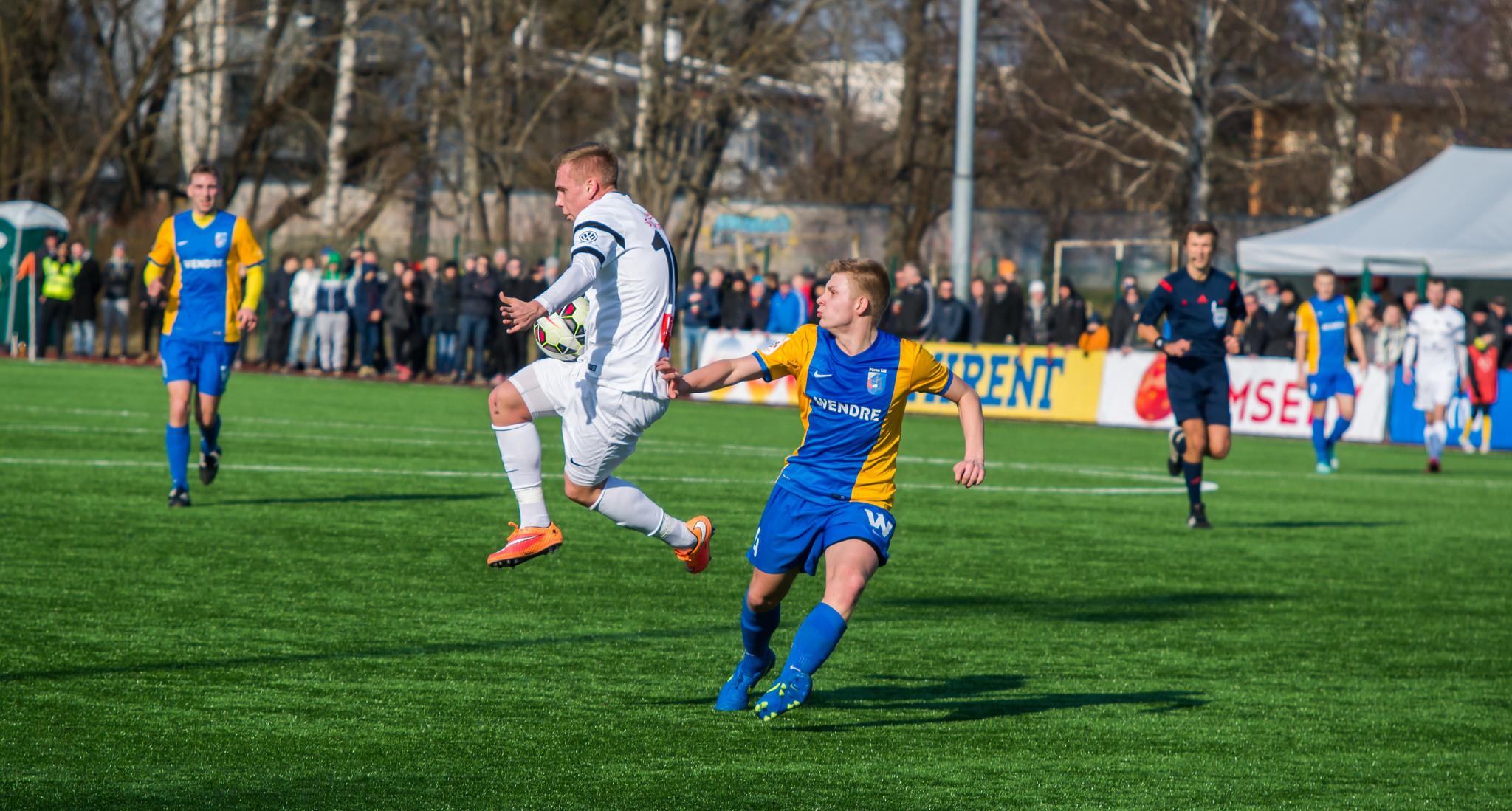Villota aitas Eesti U-19 koondise võidule!