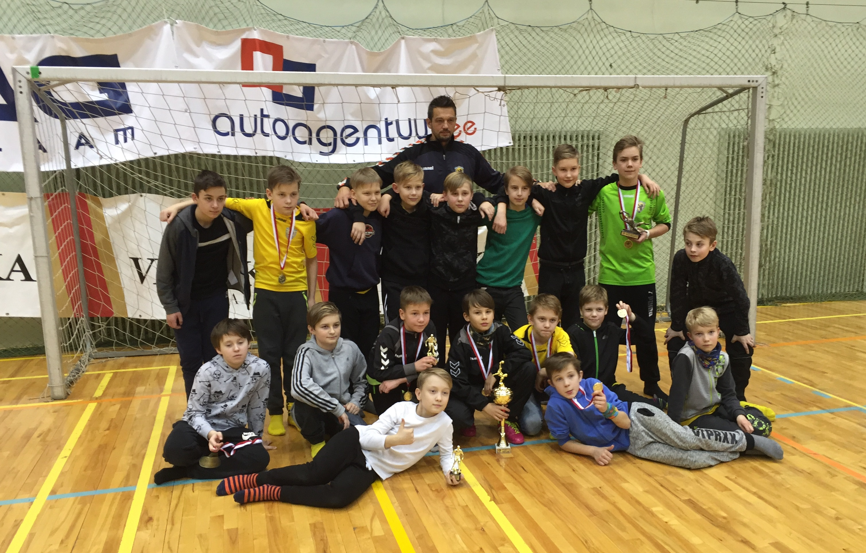 Vapruse U13 Viljandi Cupil Harri Kardi karikatele