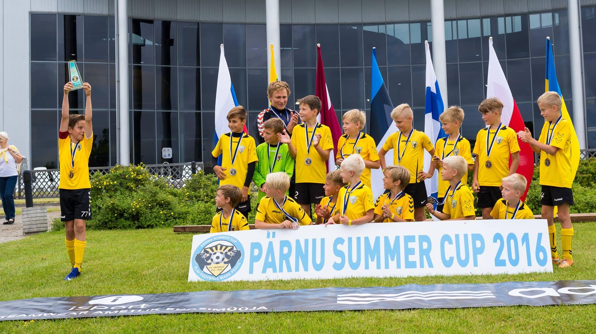 Pärnu Summer Cup 2016 on selleks aastaks läbi.