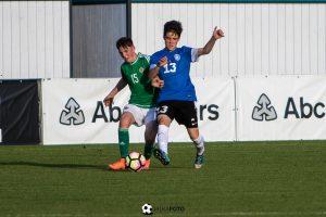Grahv ja Tiismaa esindasid Eesti U16 koondist Põhja-Iirimaa vastu