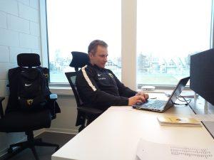 Pärnu JK Vaprus kolis kontori Rannastaadionile