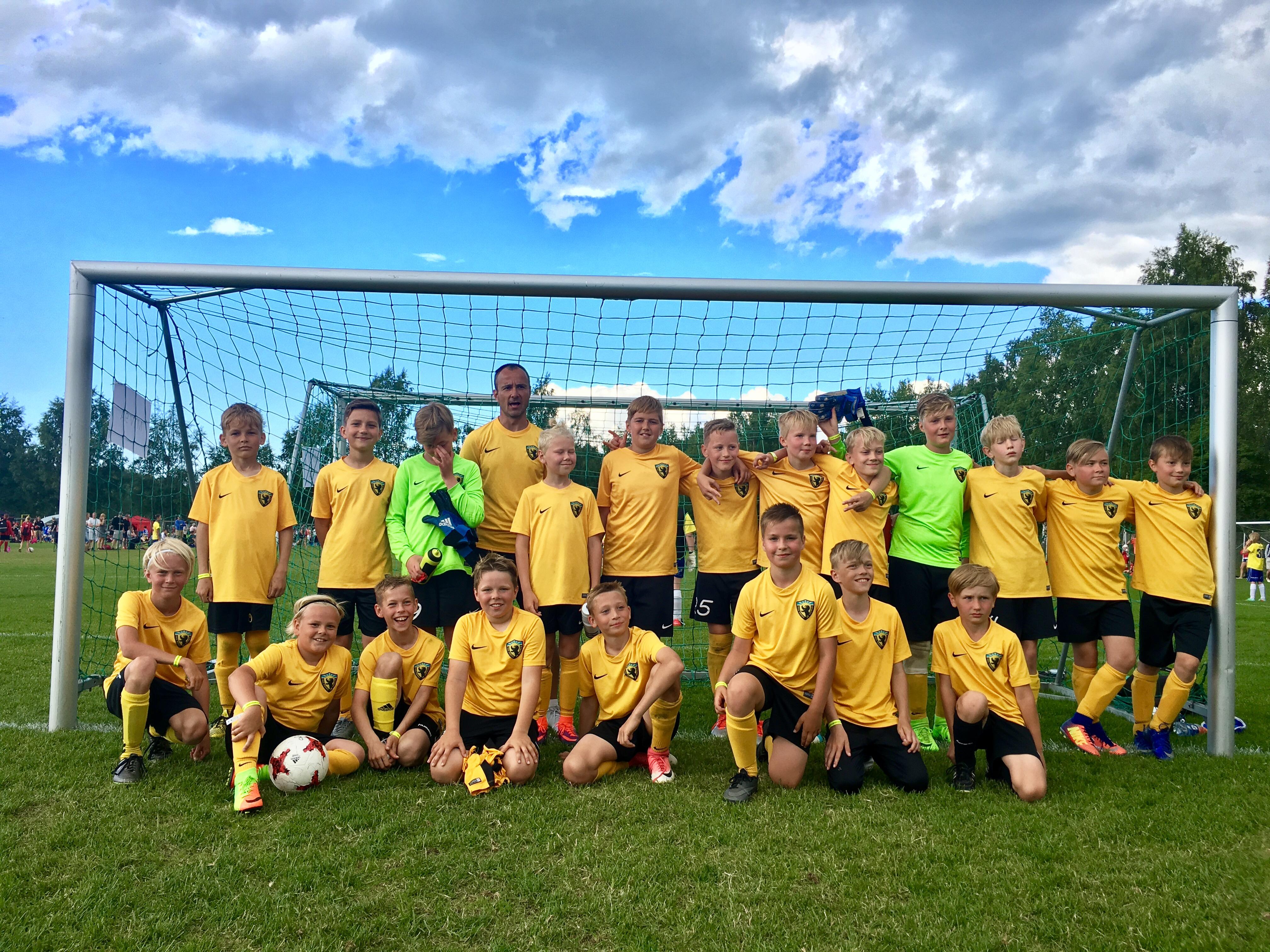 Wasa Footballcupilt U12 poistele 7 ja 9 koht!
