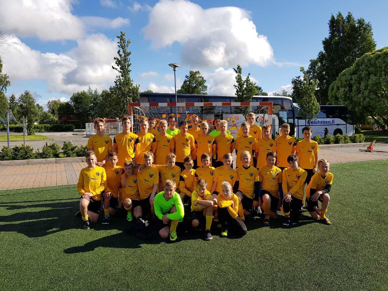U15 ja U14 osalesid Kokkola Cupil Soomes