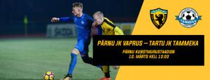 Eelvaade: Pärnu JK Vaprus – Tartu JK Tammeka