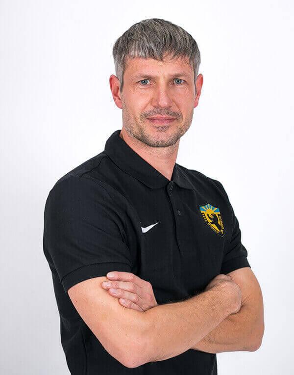 Väravavahtide treener Ruslan Mironov